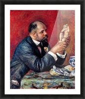Portrait of Vollard by Renoir Picture Frame print
