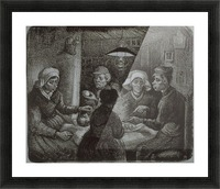 Potato Eaters by Van Gogh Picture Frame print