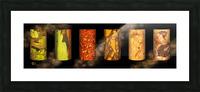tree bark harmony Picture Frame print