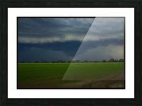 coraki storm Picture Frame print