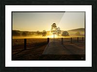 glenreagh sunrise Picture Frame print