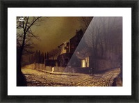 Yew Court, Scalby, near Scarborough Picture Frame print
