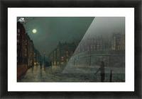 Heath Street, Hampstead Picture Frame print