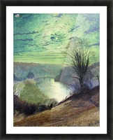 On the Tees near Barnard Castle Picture Frame print