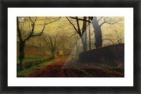 Autumn Sunshine Stapelton Park Picture Frame print