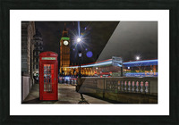 Red Phone Box Picture Frame print