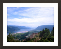 The Gorge   Columbia River Picture Frame print
