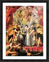 Replacing the Medici Princess by Rubens Picture Frame print