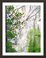 Mighty Yellowstone 4 - Grand Canyon of the Yellowstone River - Yellowstone National Park Picture Frame print