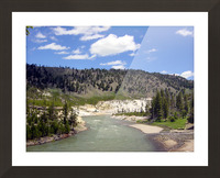 Yellowstone National Park 3 Picture Frame print