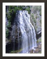 Narada Falls at Mount Rainier Pacific Northwest Picture Frame print