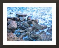 Rugged Coast Picture Frame print