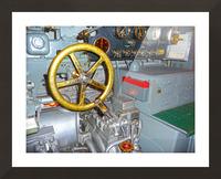 Submarine 2 Picture Frame print