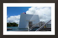 USS Arizona Memorial Hawaii Picture Frame print