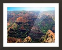 Rugged Kauai Picture Frame print