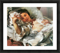 Morning Sun by Lovis Corinth Picture Frame print