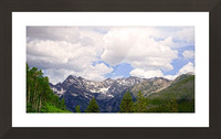 White River Country Colorado Picture Frame print