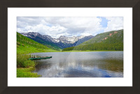 Rocky Mountain Reflections Picture Frame print