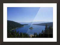 Top of the Lake Picture Frame print