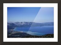 Lake Tahoe View - Tahoe California USA Picture Frame print