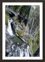 From Bridge to Stream Picture Frame print