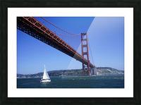 Golden Gate Bridge Picture Frame print