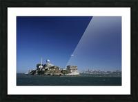 Alcatraz   The Rock @ San Francisco Bay Picture Frame print