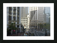 Snapshot in Time @ San Francisco Financial District Picture Frame print