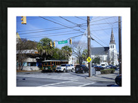 Snapshot in Time Charleston 1 of 5 Picture Frame print
