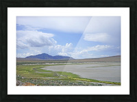 The Great Salt Lake 3 of 7 Picture Frame print