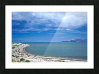 The Great Salt Lake 6 of 7 Picture Frame print