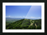 Hike Park City Picture Frame print