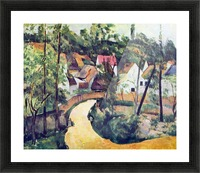 Road bend by Cezanne Picture Frame print