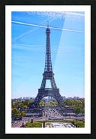 Majestic Eiffel Picture Frame print