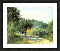 Road to Louveciennes Picture Frame print