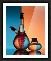 Oil and Vinegar Picture Frame print