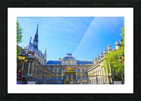 Paris Snapshot in Time 4 of 8 Picture Frame print