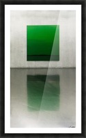 Green by Toni Guerra  Picture Frame print