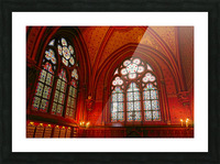 Jeanne d Arc and Saint Croix Cathedral at Orleans   France 6 of 7 Picture Frame print