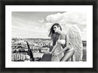 Angel Picture Frame print