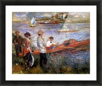 Rowers from Chatou by Renoir Picture Frame print