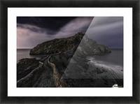 One Night in Gaztelugatxe by Fran Osuna  Picture Frame print