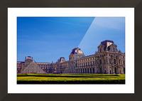 The Louvre Paris 1st Arrondissement Paris Picture Frame print