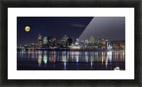 Montreal Night Picture Frame print