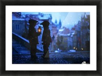 Twinkle Twinkle Little Flame Picture Frame print