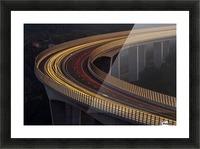 Viadukt AŒrni Kal by Jaka Ivancic  Picture Frame print