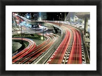 Chaotic Traffic Picture Frame print