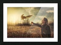 Free Spirit  Picture Frame print