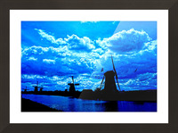 Windmills of the Netherlands 4 of 4 Picture Frame print