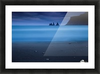 Blue night 2 Picture Frame print